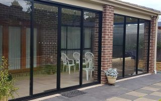 Alfresco Glass Panels